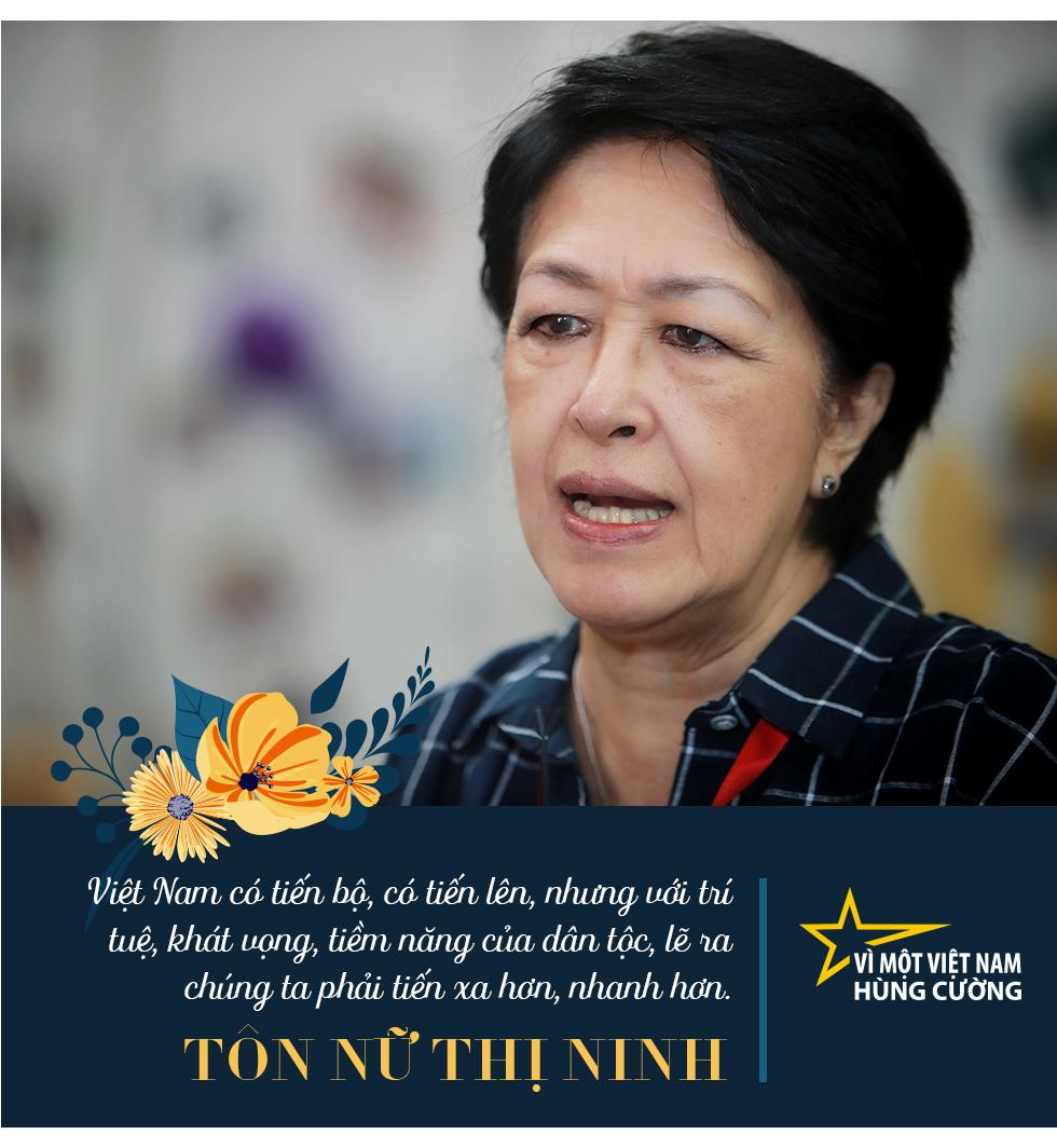 Vì một Việt Nam hùng cường - Chia sẻ của Chủ tịch HPDF