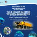 Hưởng ứng Tuần lễ Biển và Hải đảo Việt Nam (Nguồn: Nhật Tuấn/Báo Pháp luật Việt Nam ngày 8/6/2020)