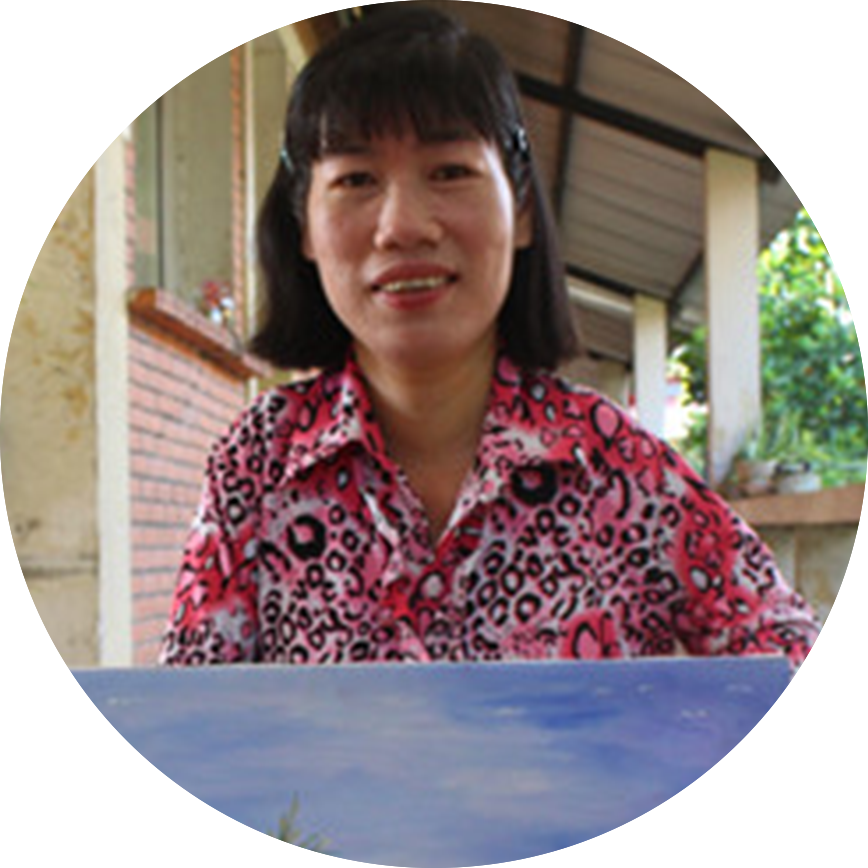 Huynh Thi Xam - Hoc Mon Vocational Training Center for People with Disabilities / Top 100 Women of the Global voted by BBC in 2017