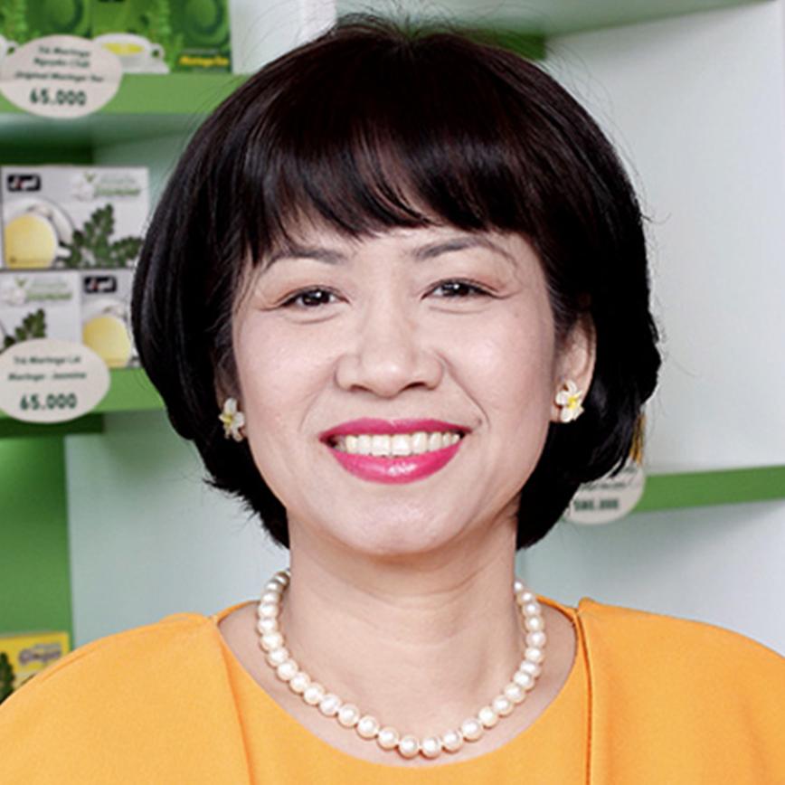 Phan Thị Tuyết Mai - Tổng giám đốc công ty TMTM và Thủy Sản Tài Nguyên